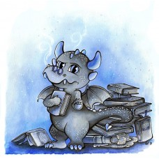Affiche dragon libraire
