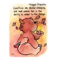 Carte postale Mingyur Rinpoche